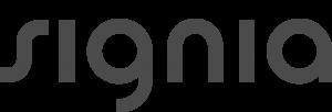 Signia - grey text
